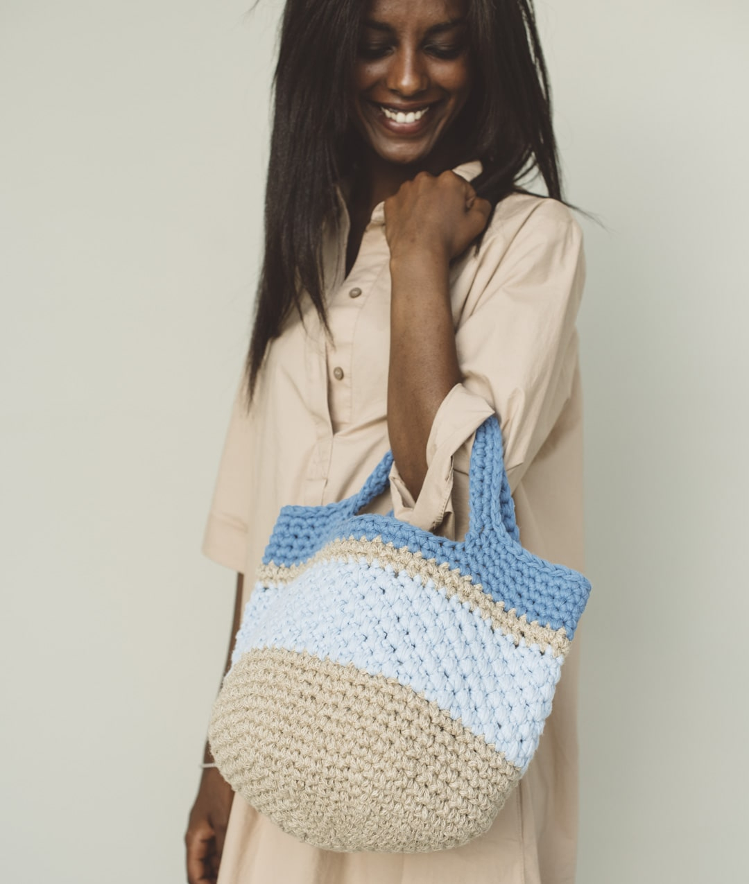 Jute - Crochet Kits - GAELLE BAG - 1