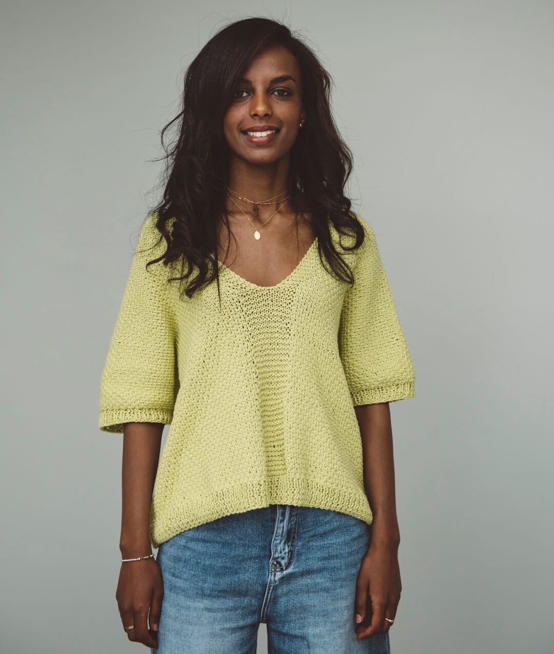 Sweaters and Tops - Cotton - PEGGY TOP - 1