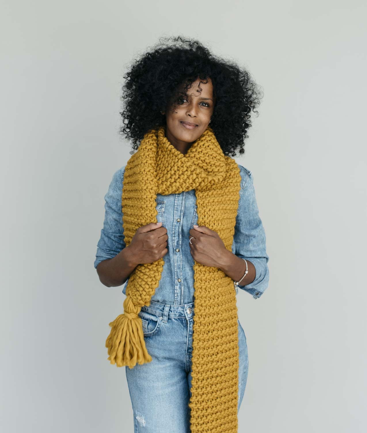 Easy Wool Collection - Scarves and Snoods - SALLY SCARF - 1
