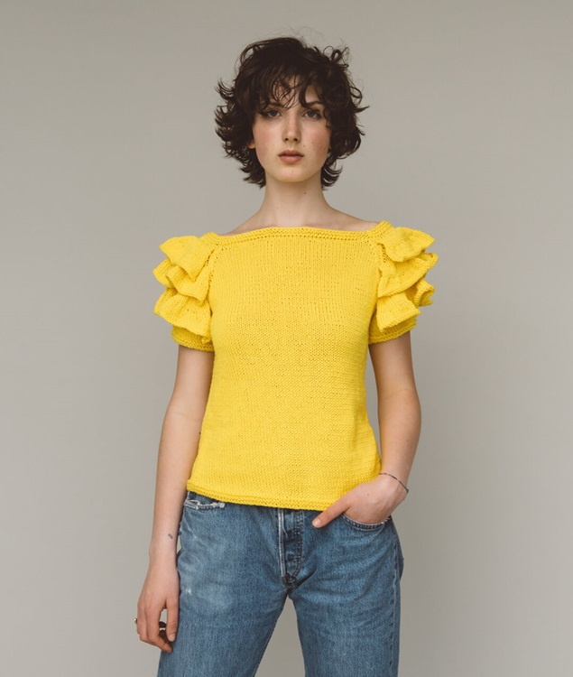 - Sweaters and Tops - Daffodil Tee - 1