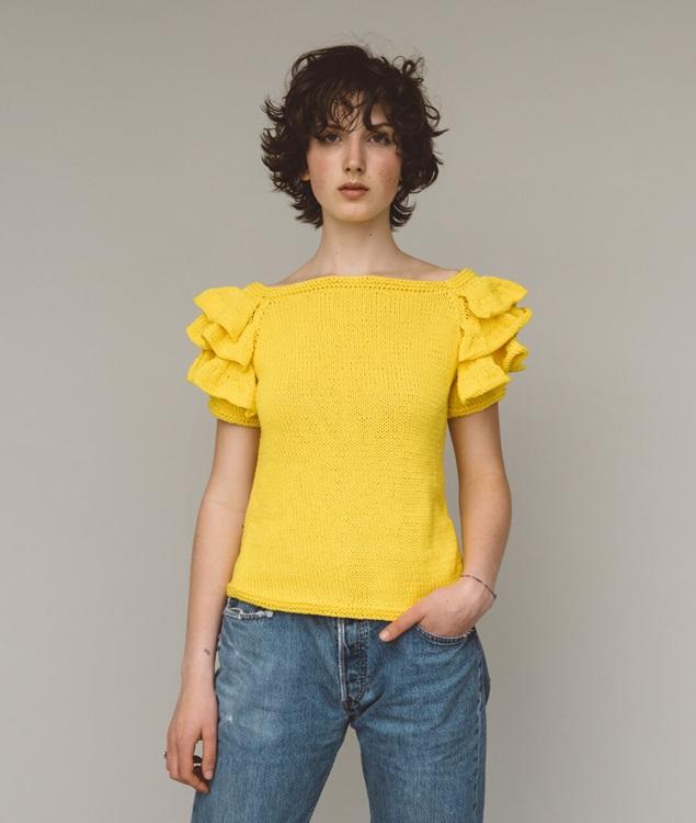 - Maglie e Top - Daffodil Tee - 1