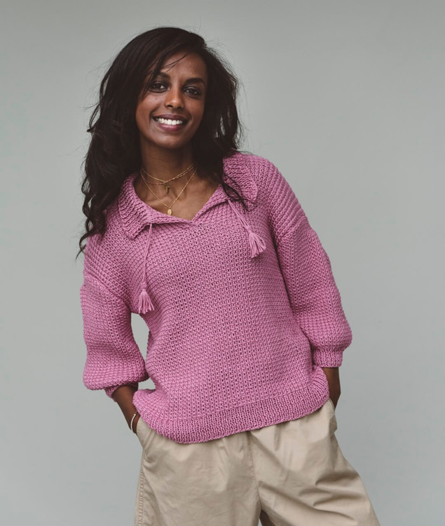Cardigans and Vests  - Cotton - Sweaters and Tops - Lula Pull - 1