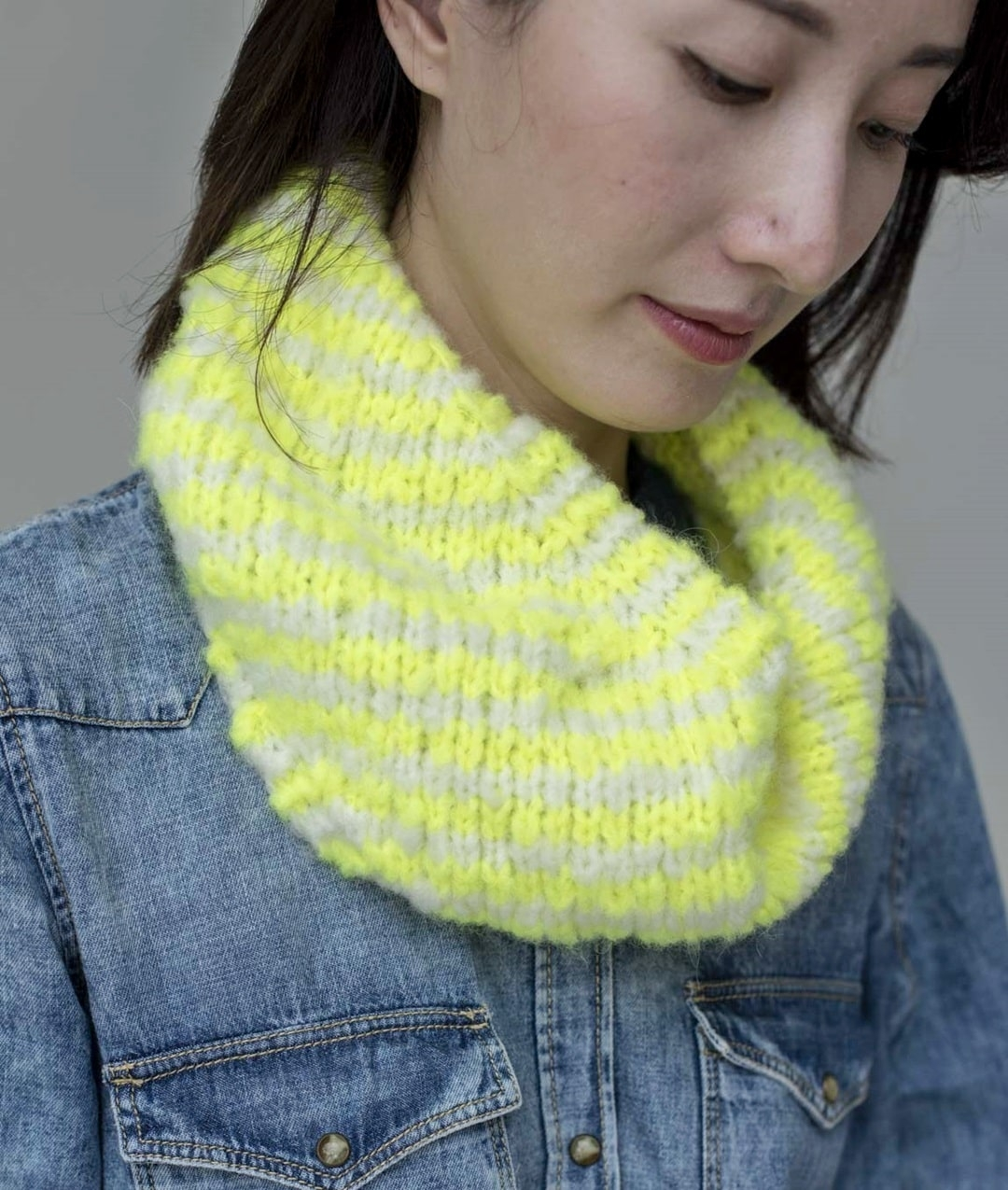Neon Collection - Scarves and Snoods - REN SNOOD - 1
