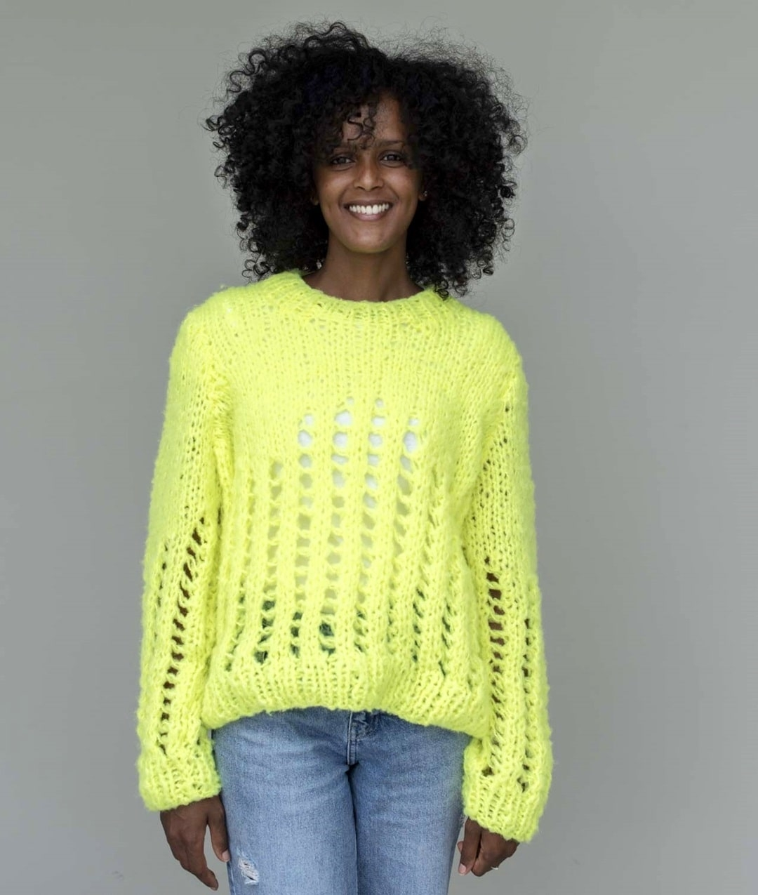 Neon Collection - New In - SUNNY SWEATER - 1
