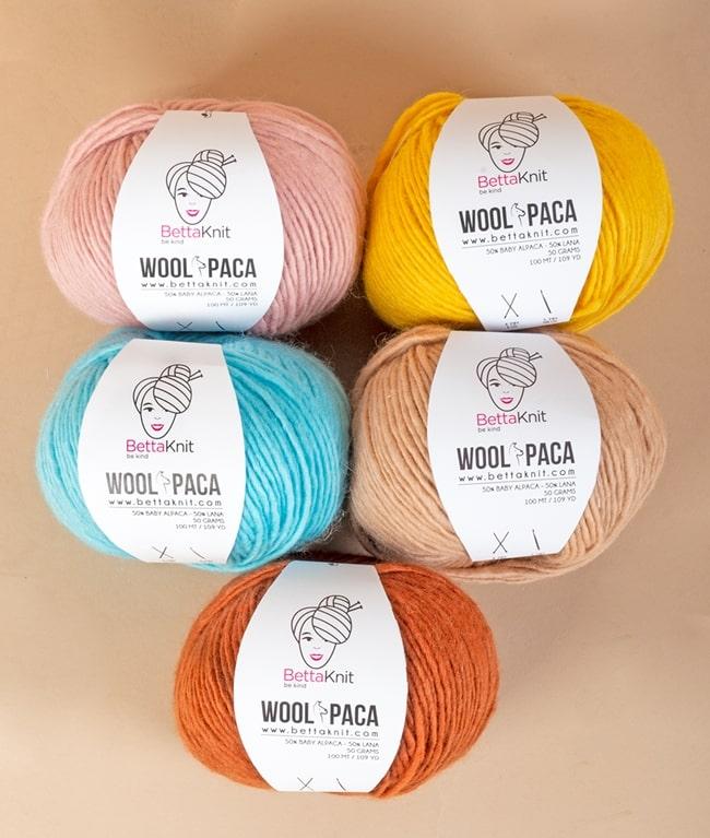 Packs of Skeins - WOOLPACA Pack - 5 skeins - 1