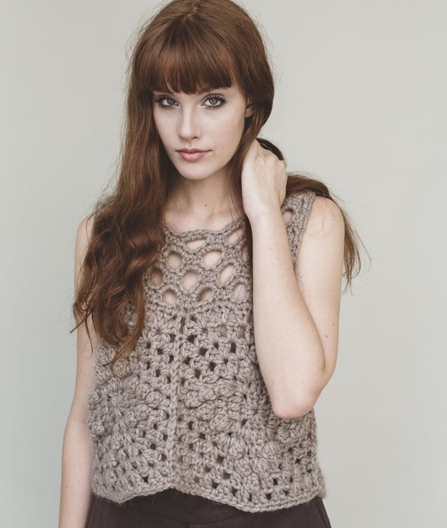BIO Crochet Collection - New In - HAZEL TOP - 1