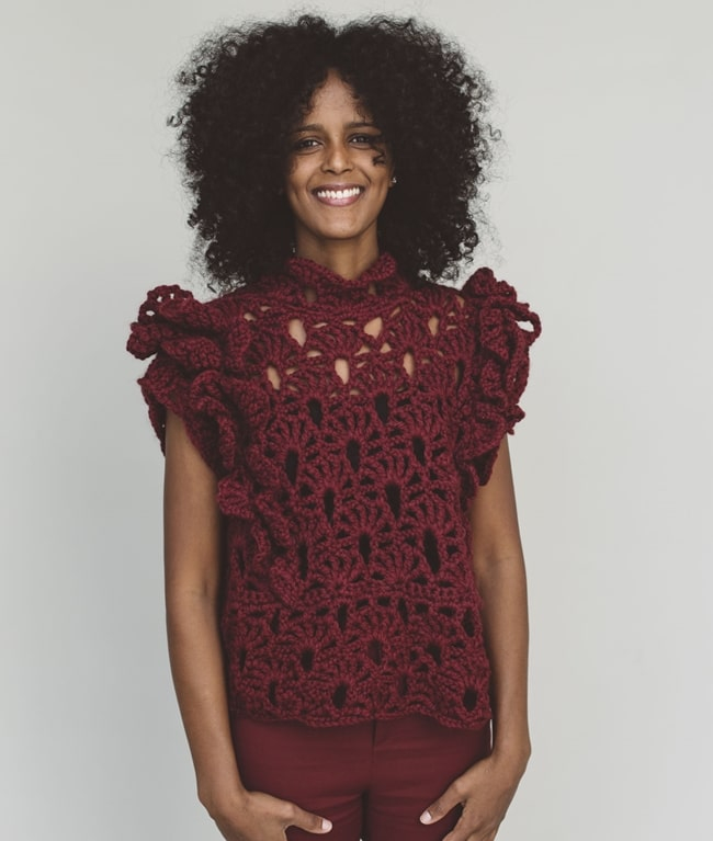 BIO Crochet Collection - New In - MARIGOLD TOP - 1