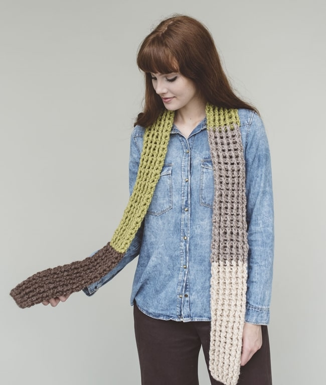BIO Crochet Collection - New In - WILLOW SCARF - 1