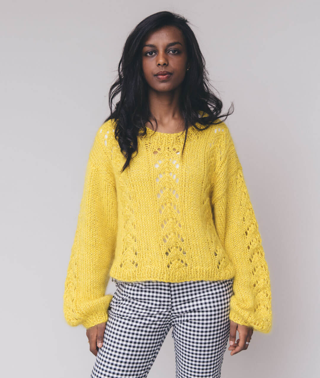 - Sweaters and Tops - Sweaters and Tops - MIMOSA SWEATER - 1