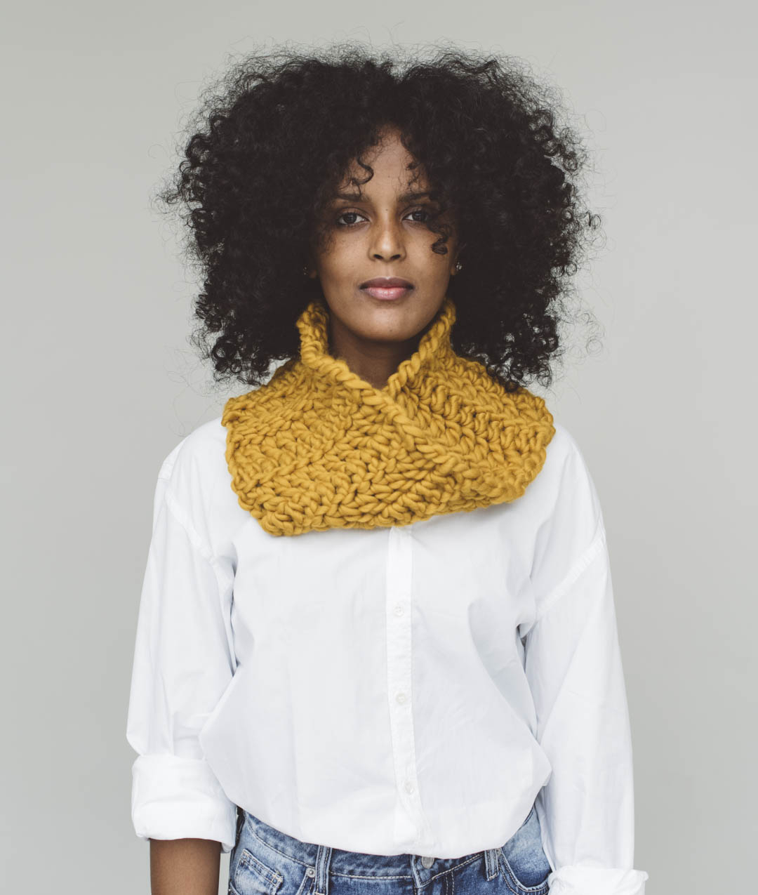 Crochet Wool Collection - New In - Dolomites Snood - 1