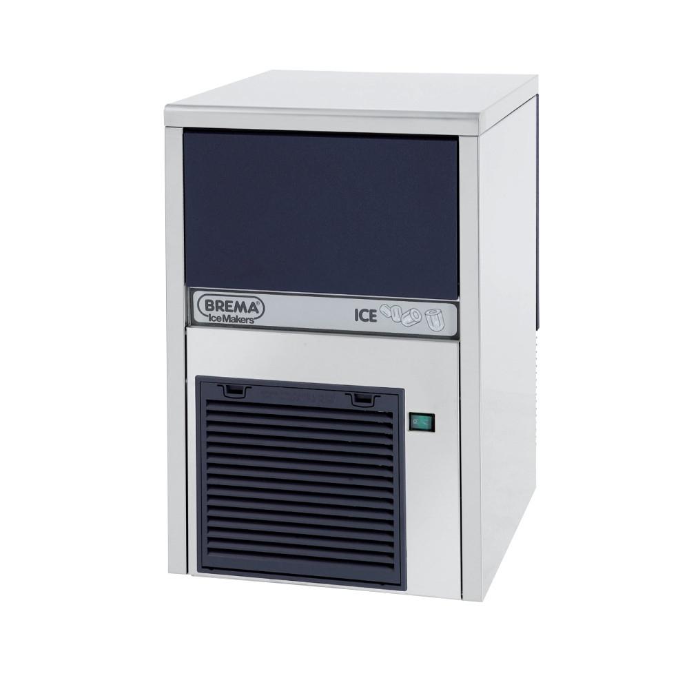 Fabbricatore di Ghiaccio Cubetto Cavo Brema IMF 26 - 22 kg/24h - Contenitore max. 4 Kg