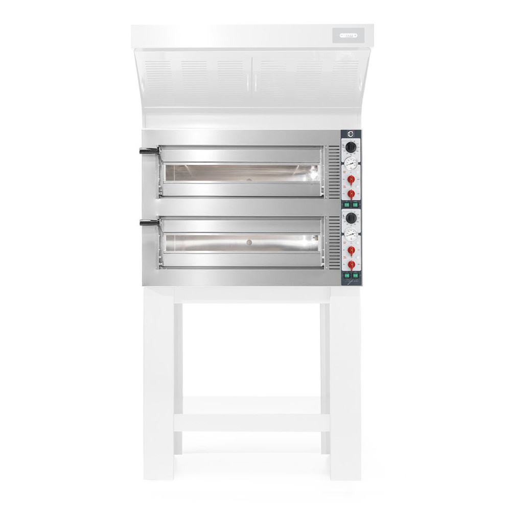 Forno Pizza Professionale Cuppone Tiepolo 4+4 x ø35 cm