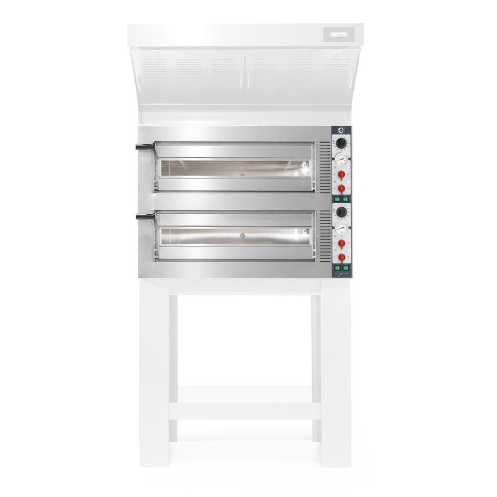 Forno Pizza Professionale Cuppone Tiepolo 6+6 x ø35 cm Girato