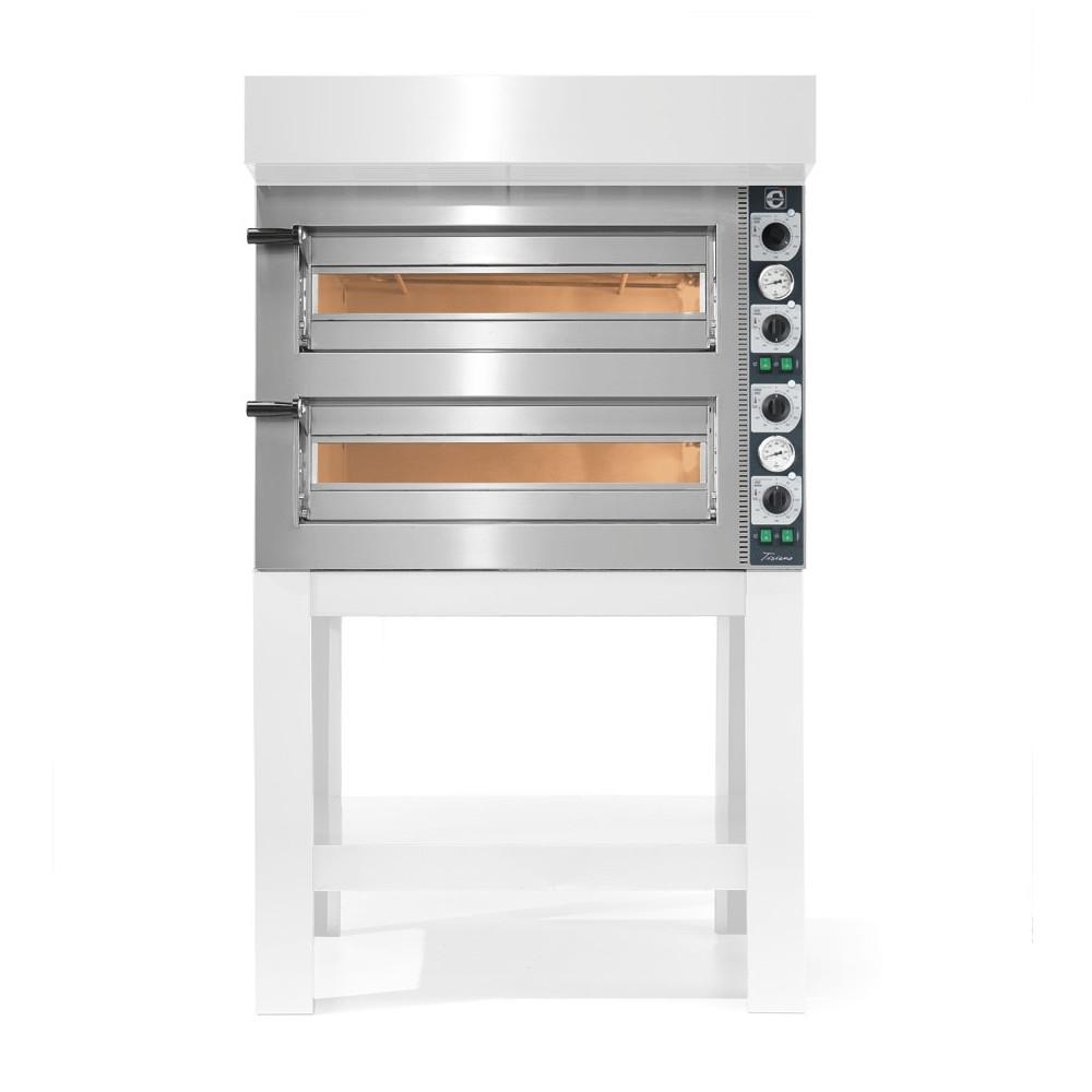 Forno Pizza Professionale Cuppone Tiziano 4+4 x ø20 cm