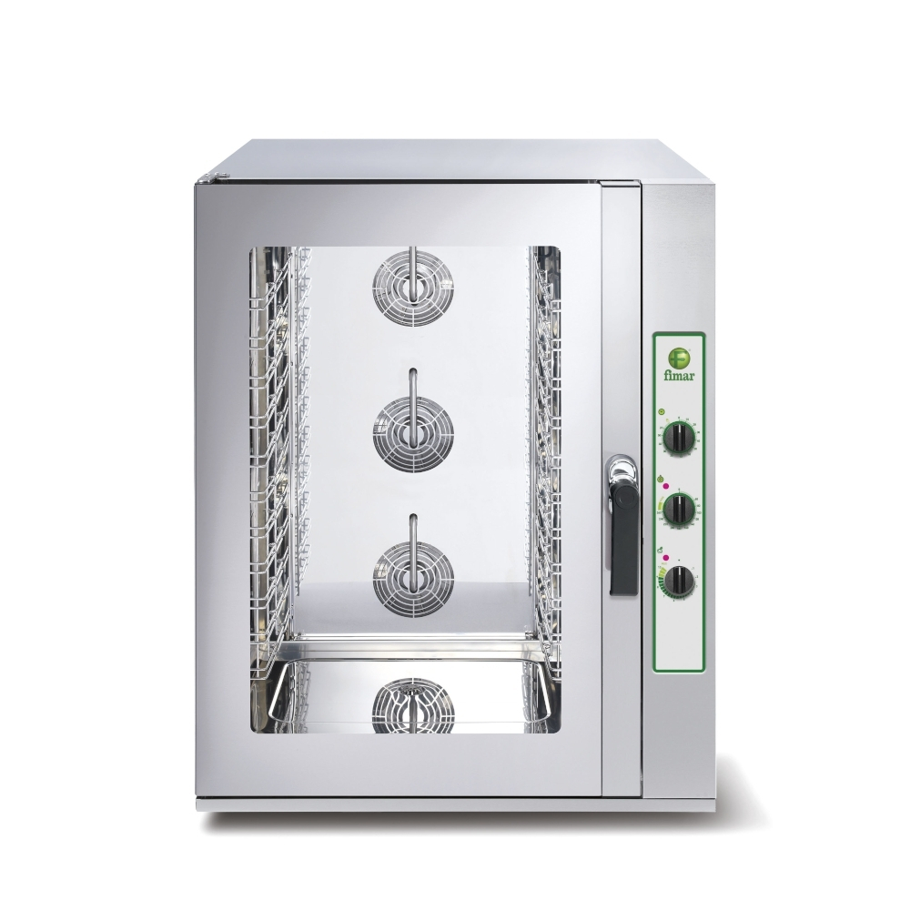 Forno Convezione Fimar TOP10M - 10 Teglie GN1/1 o 60x40 - Elettromeccanico - Vapore Diretto