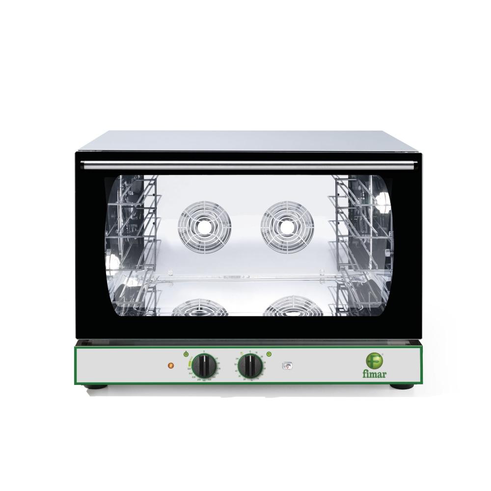 Forno Convezione Fimar CMP4GPM - 4 Teglie GN1/1 o 60x40 - Elettromeccanico - Vapore Manuale