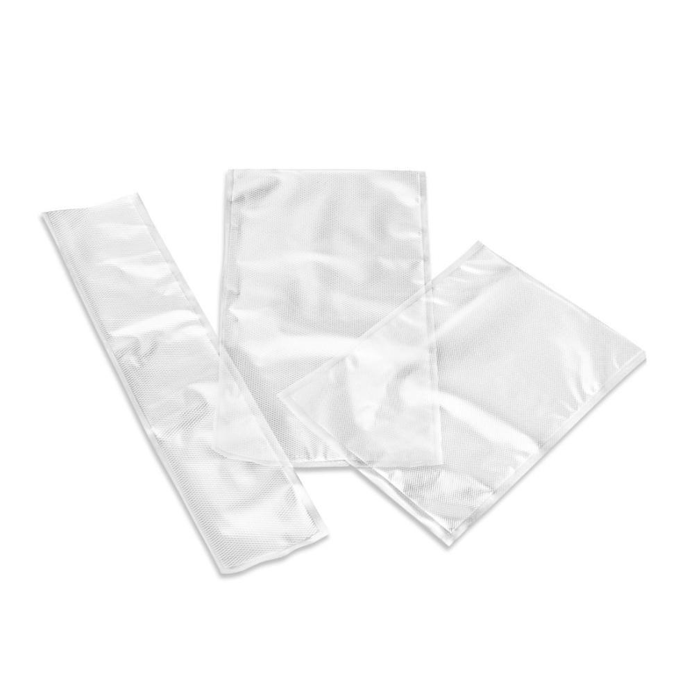 Box Risparmio Buste Sottovuoto Goffrate Cottura 105µ Misure Varie
