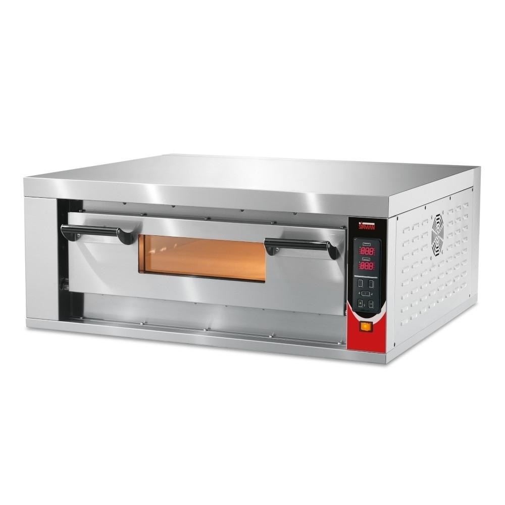 Forno Pizza Professionale Sirman Vesuvio 70x70 - 4 x Ø 34 cm