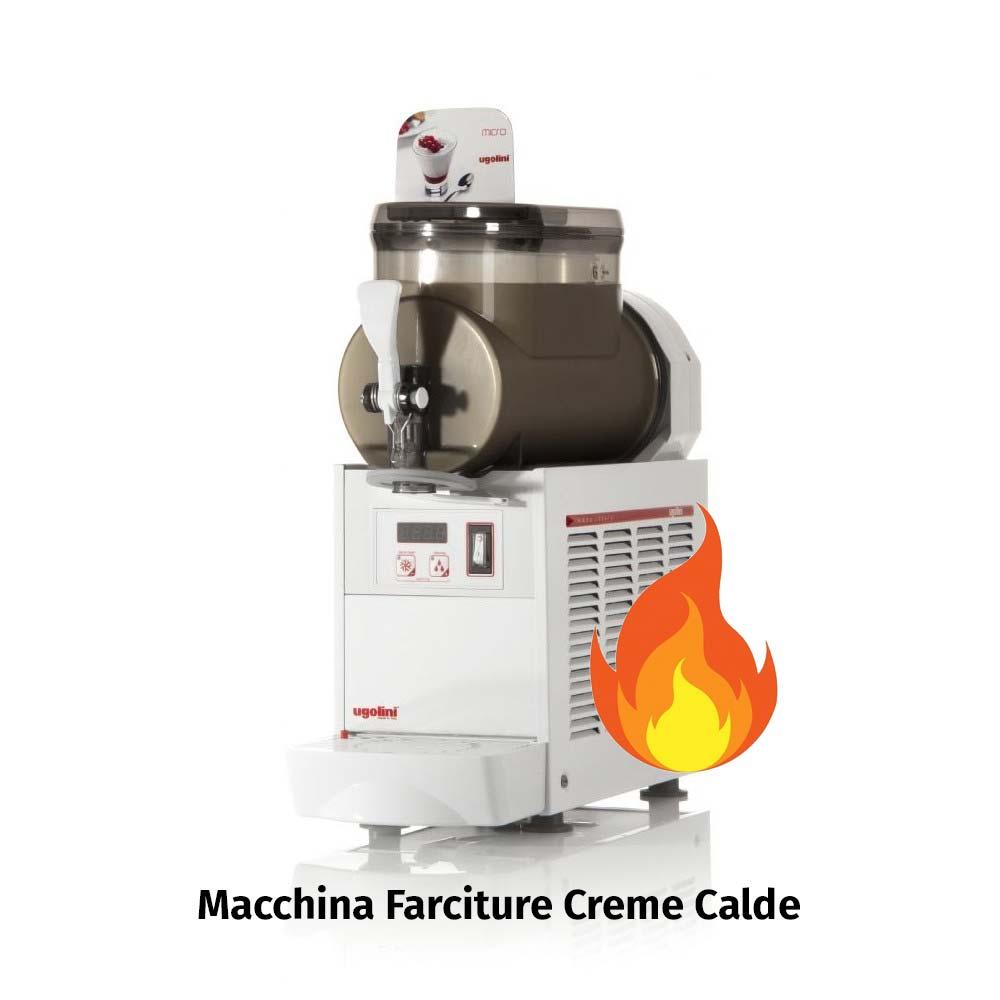 Macchina Farciture Creme Calde Ugolini MICRO HOT Capacità 1 x 3 lt